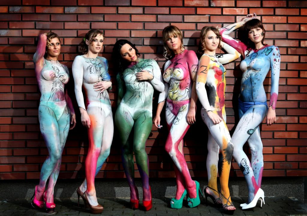 Hostessy na Eventy - Modelki BodyPainting